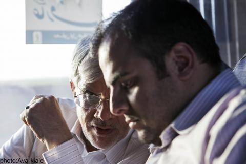 حمیدرضا عارف و محمدرضا عارف