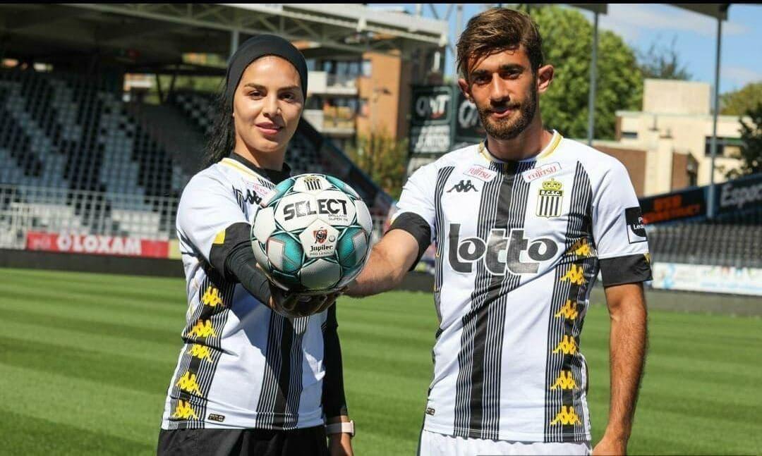 فوتبالیست زن ایرانی