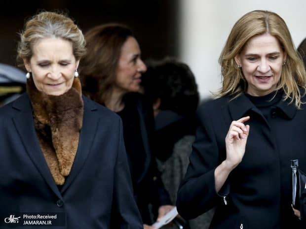 خواهران پادشاه اسپانیا