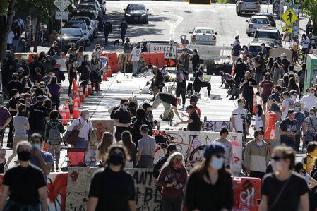 فاکسنیوز عکس دستکاری شده اعتراضات سیاتل را حذف کرد