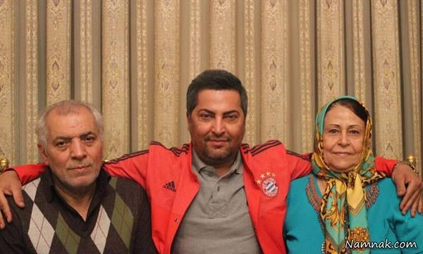 عکس ناراحت کننده از مهرداد میناوند / آخرین خبر از وضعیت جسمانی میناوند + عکس های جدید