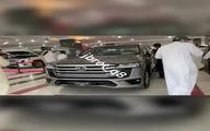 صف خرید لندکروز 2021 در امارات سوژه شد! +عکس