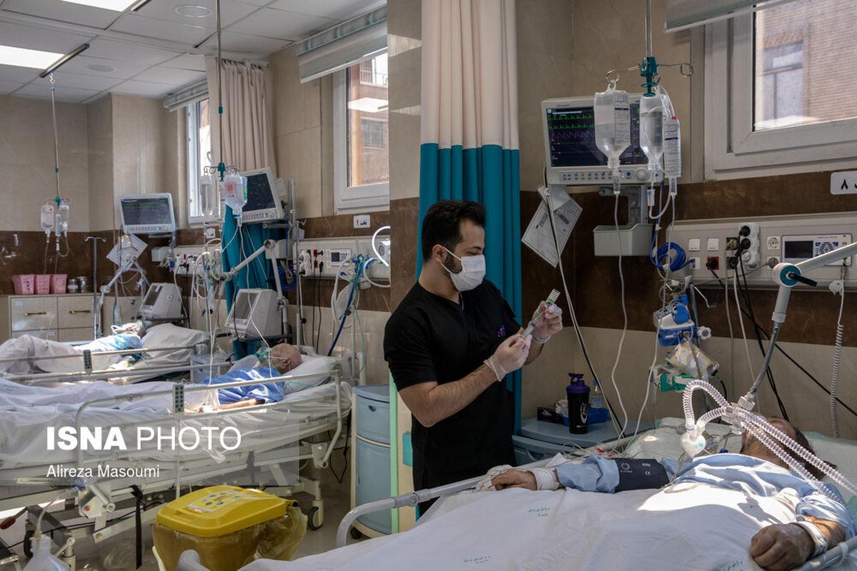 تصاویر: تحویل سال ۱۴۰۰ در بیمارستان فیروزگر تهران