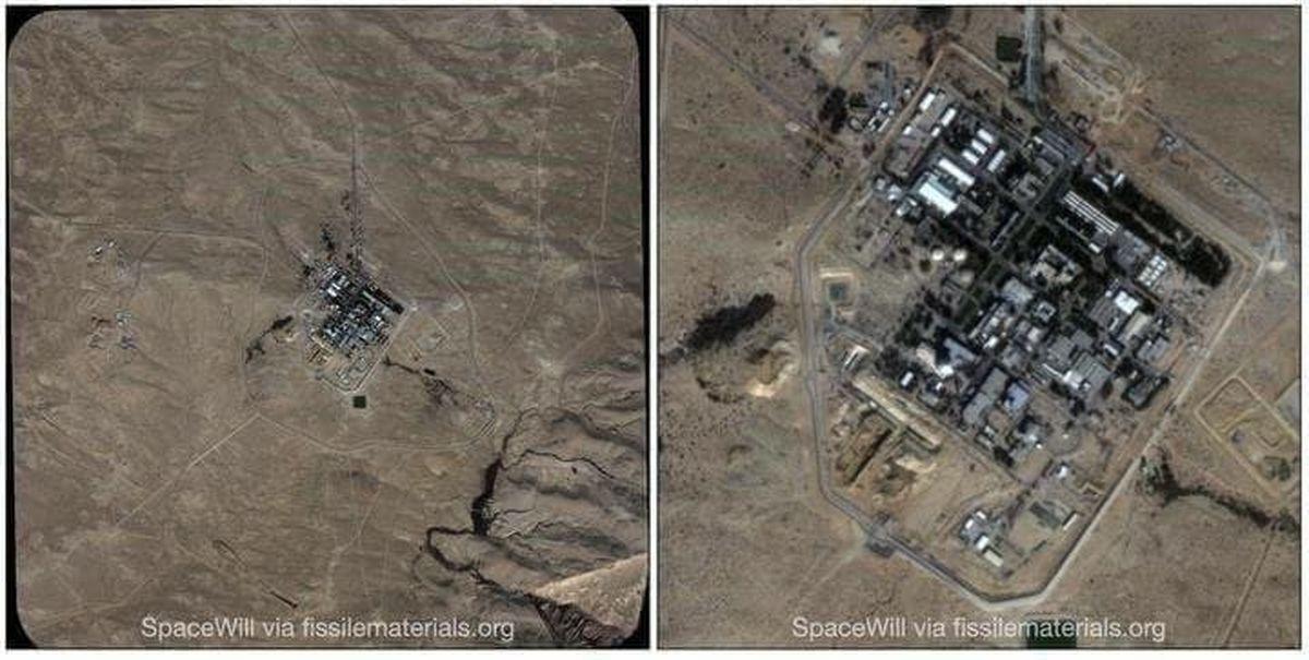تصاویر ماهواره ای اقدامات هسته ای اسرائیل را فاش کرد +عکس