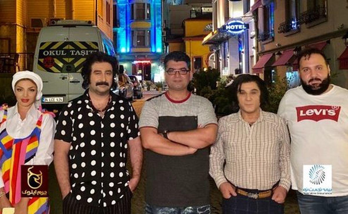 تیپ جنجالی مهدی هاشمی در ترکیه +عکس