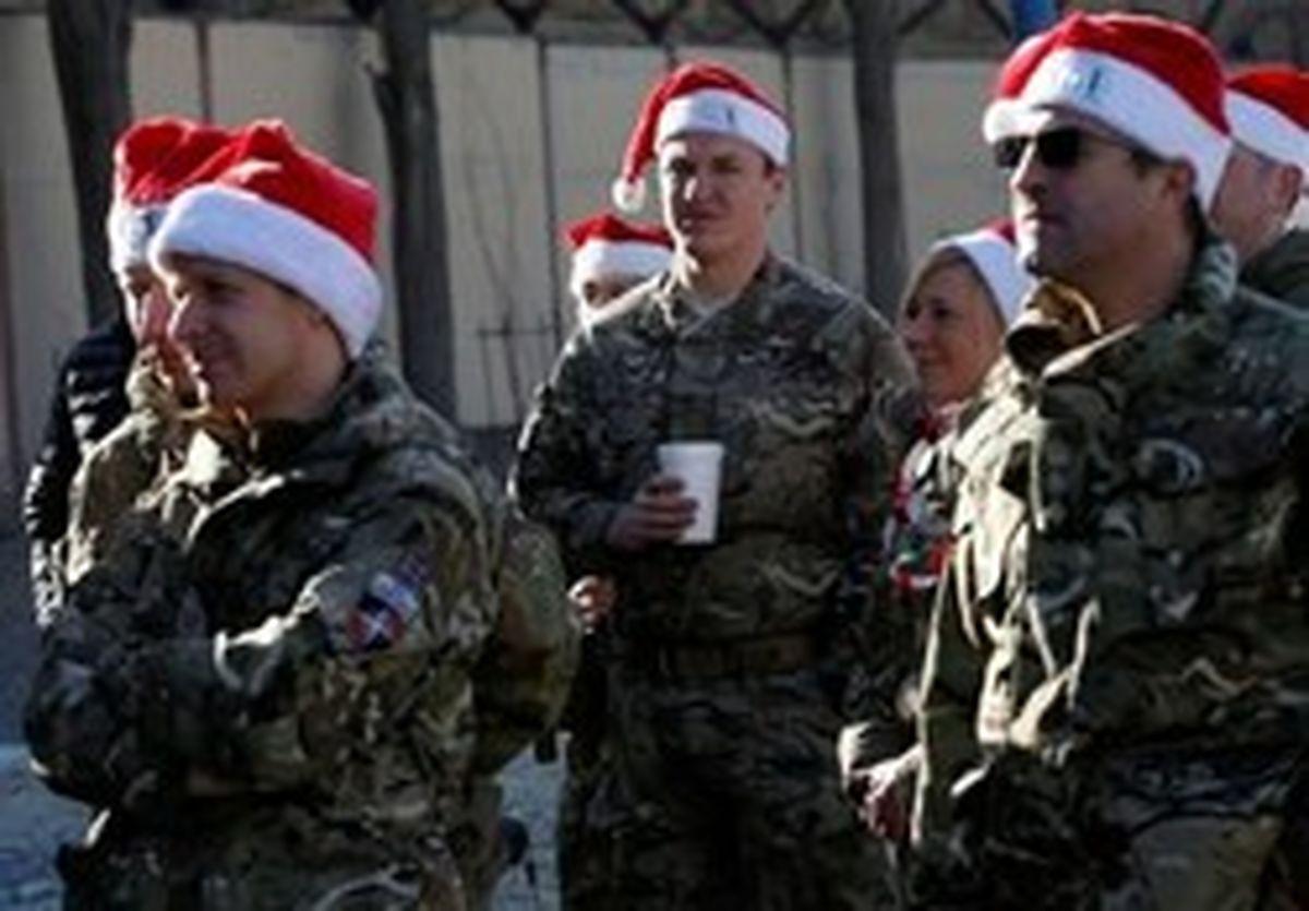 یک پوند هدیه کریسمس هر نظامی انگلیسی در افغانستان