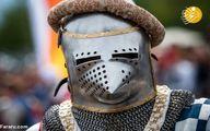 تصاویر: مبارزه به سبک قرون وسطایی