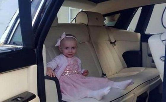 آرزوی لاکچری دختر بچه سرطانی برآورده شد! +عکس