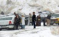 نجات ۱۰۷ مسافر از برف و بوران دیروز شاهرود