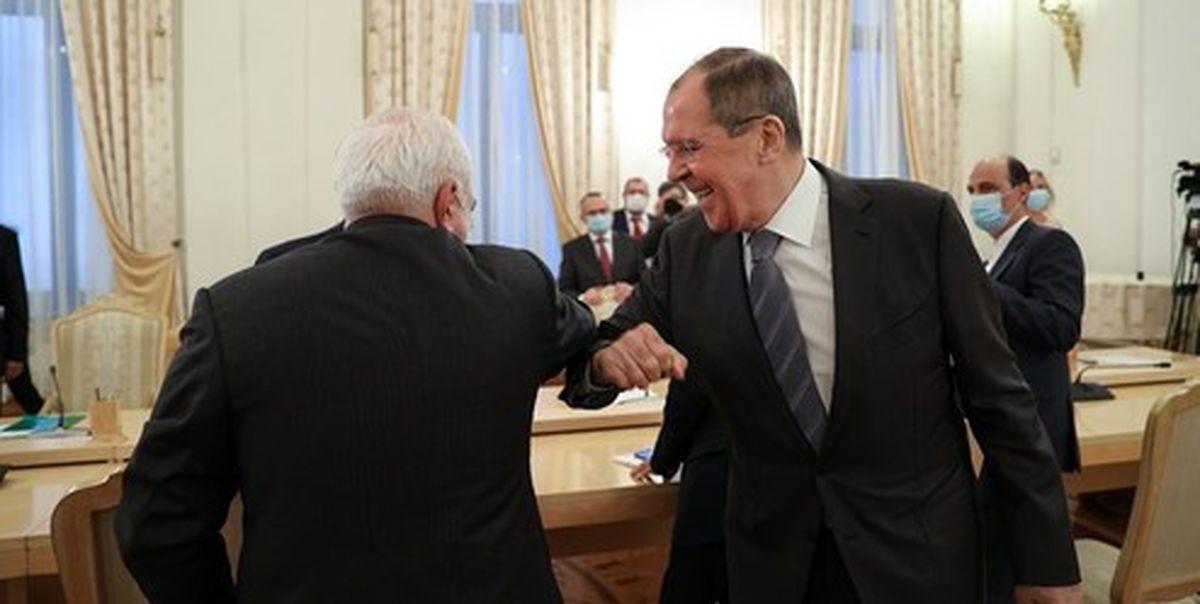 یک روز با ظریف در مسکو؛ انتقال پیام روحانی به پوتین