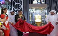 رونمایی از توالت جنس طلا و الماس در دبی! +عکس