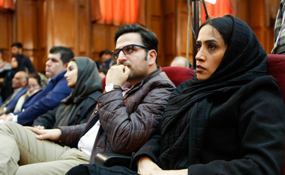 تصاویر: دختر و داماد نجفی در دادگاه قتل میترا استاد