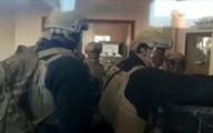 ترس و وحشت آمریکاییها داخل سفارت این کشور در عراق +فیلم