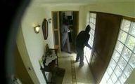 فیلم: لحظه ورود دزدان به منزل ایسکو و زیدان