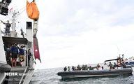 تصاویر: جمع آوری لاشه هواپیمای مسافربری اندونزی از دریا