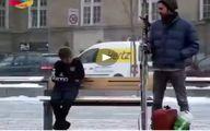 دوربین مخفی خیلی زیبای ِ انسانیت! +فیلم