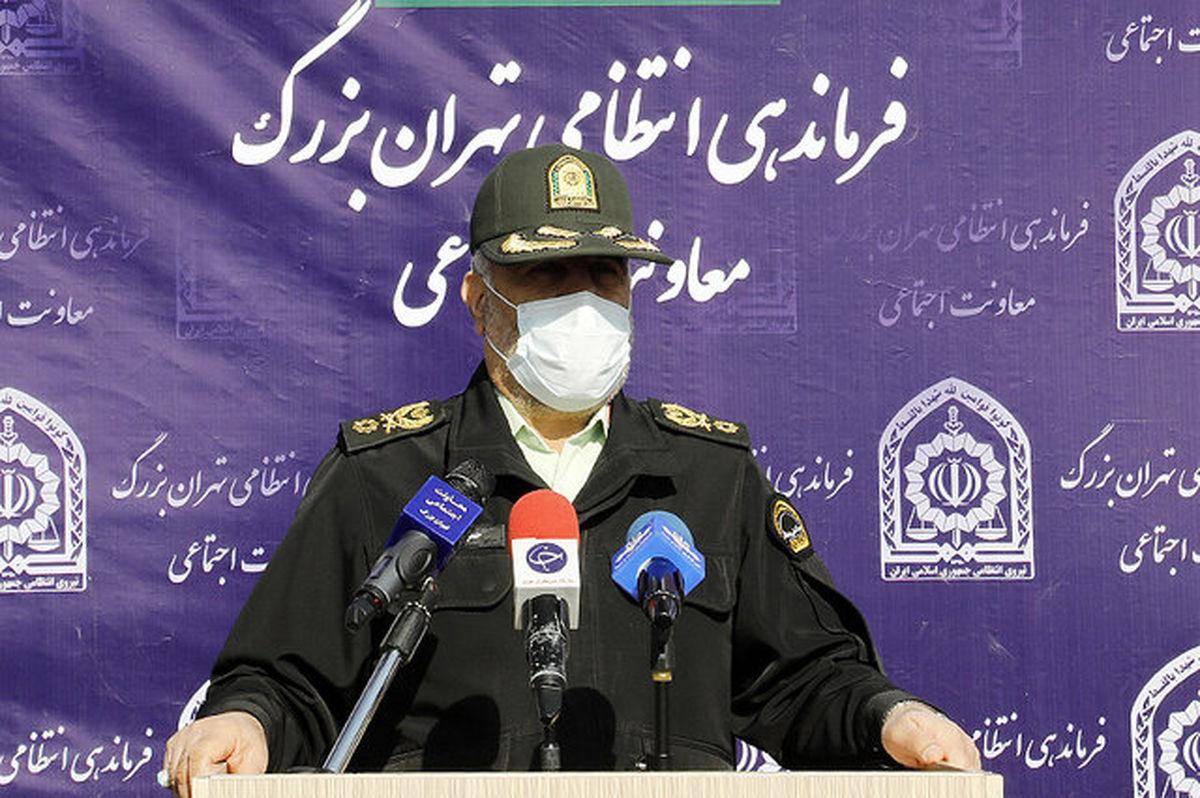 هشدار پلیس به اصناف: ساعت ۲۰ تعطیل کنید
