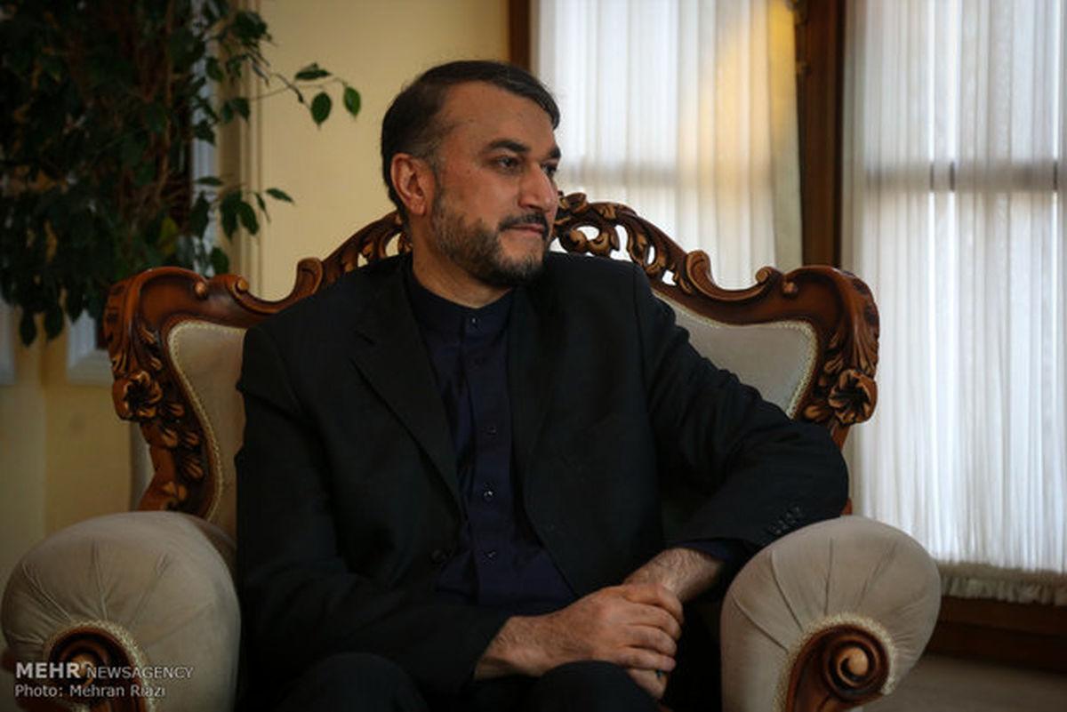 امیر عبداللهیان: اسراییل هنوز سیلی را از ایران نخورده است