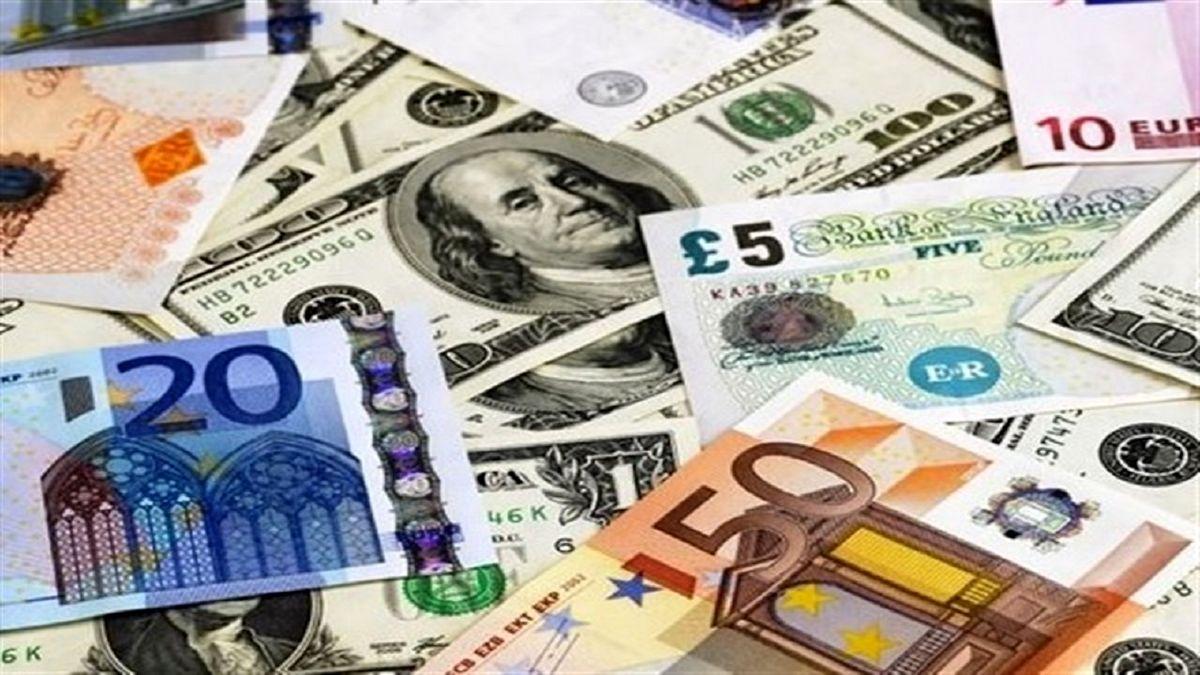 تداوم روند کاهشی قیمت دلار و یورو