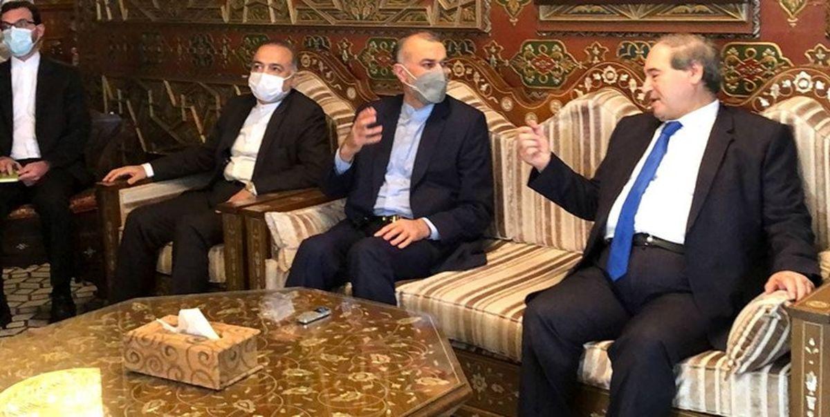 امیرعبداللهیان: روابط ایران و سوریه و عراق راهبردی است