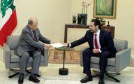 حریری لیست کابینه را با ۲۴ وزیر به عون داد