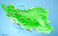 باد شدید و گرد و خاک در استان های غربی کشور