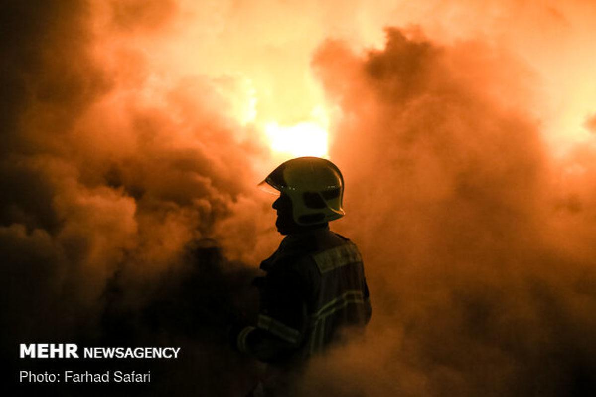 جزئیات آتش سوزی گسترده در یکی از روستاهای اهواز