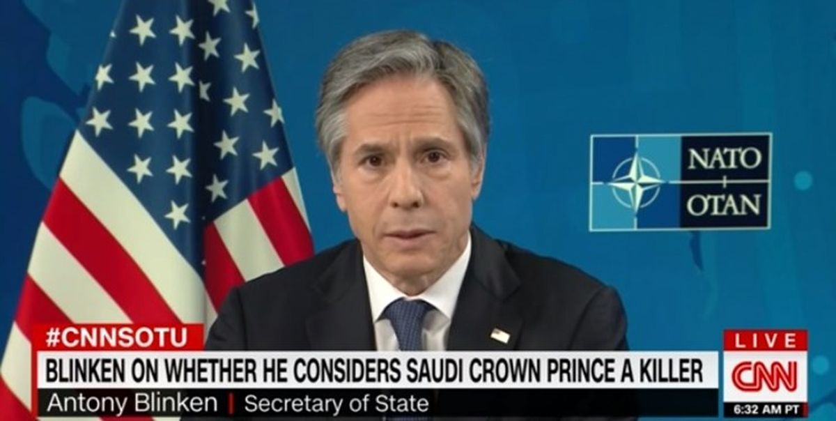 موضع جدید بلینکن درباره بن سلمان