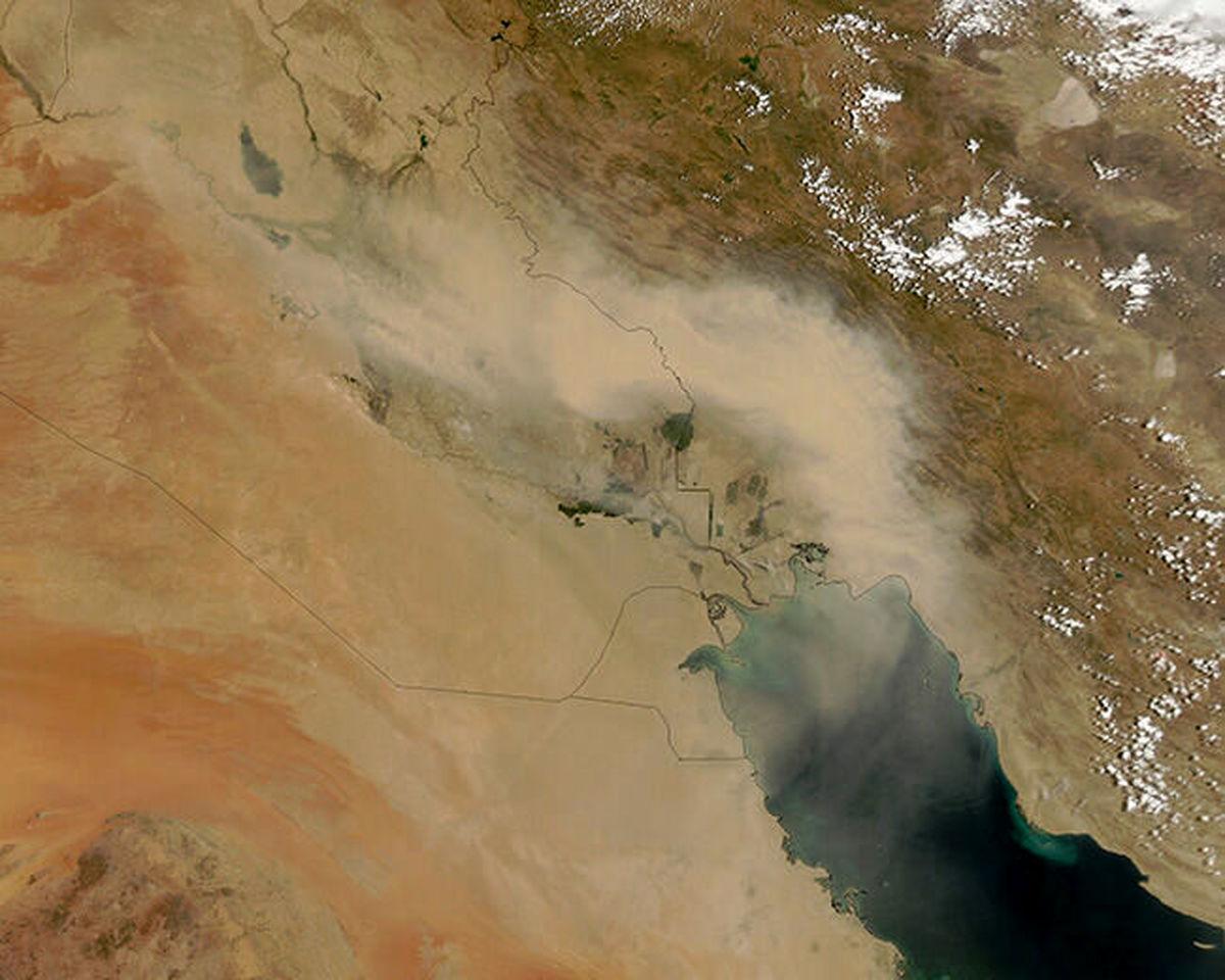 ماجرای ورود توده هوای سمی از عراق به ایران