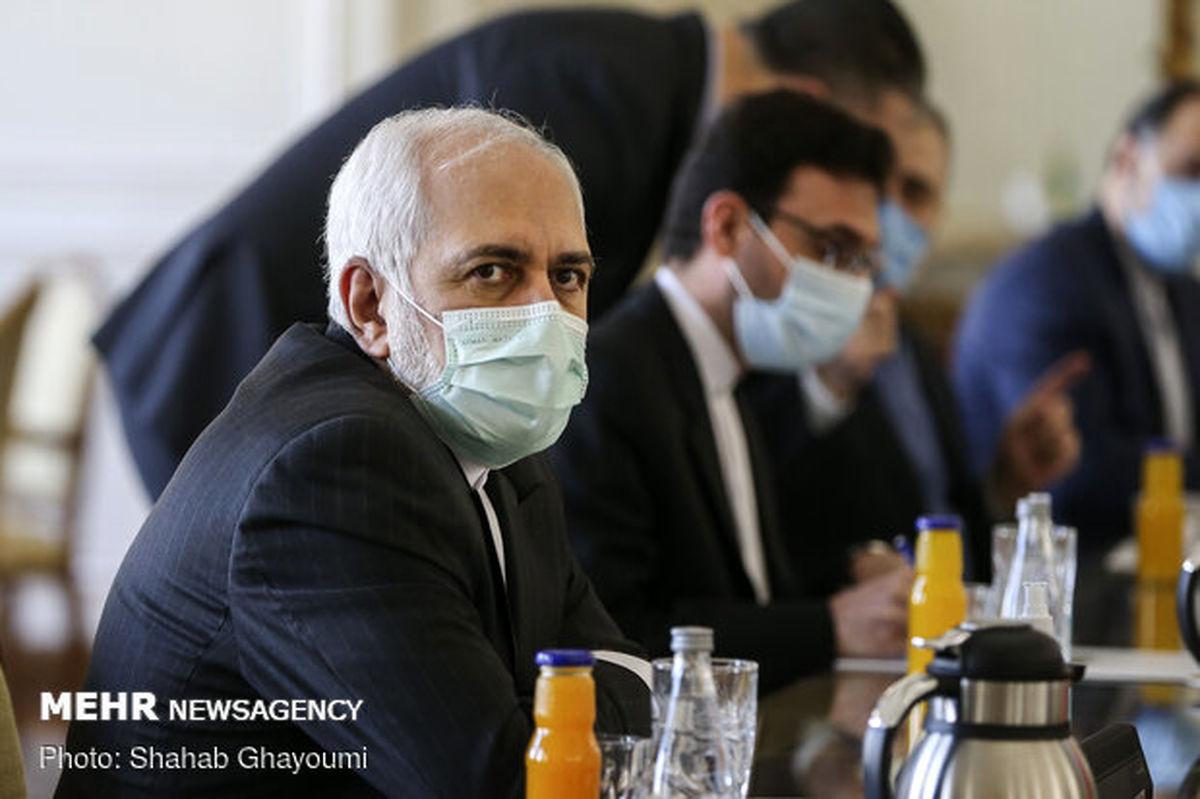 دیدار ظریف با مارتین گریفیتس درباره یمن