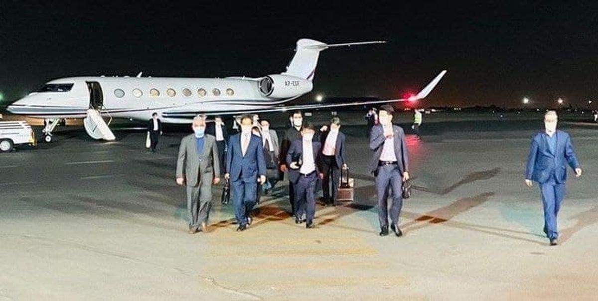 وزیر خارجه ژاپن وارد تهران شد +عکس