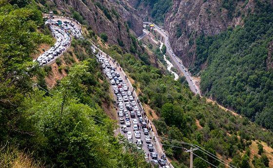 آخرین وضعیت ترافیک جادههای شمال در ساعات پایانی روز