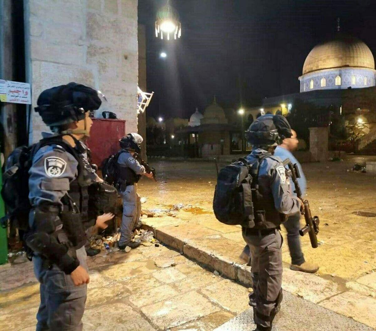 شمار مجروحان در مسجد الاقصی به ۵۳ نفر رسید