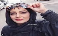 تهران گردی ساره بیات با استیل و کلاه پسرانه/ عکس دیده نشده