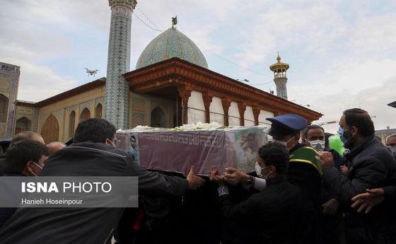 تصاویر: تشییع شهید مدافع امنیت در شیراز