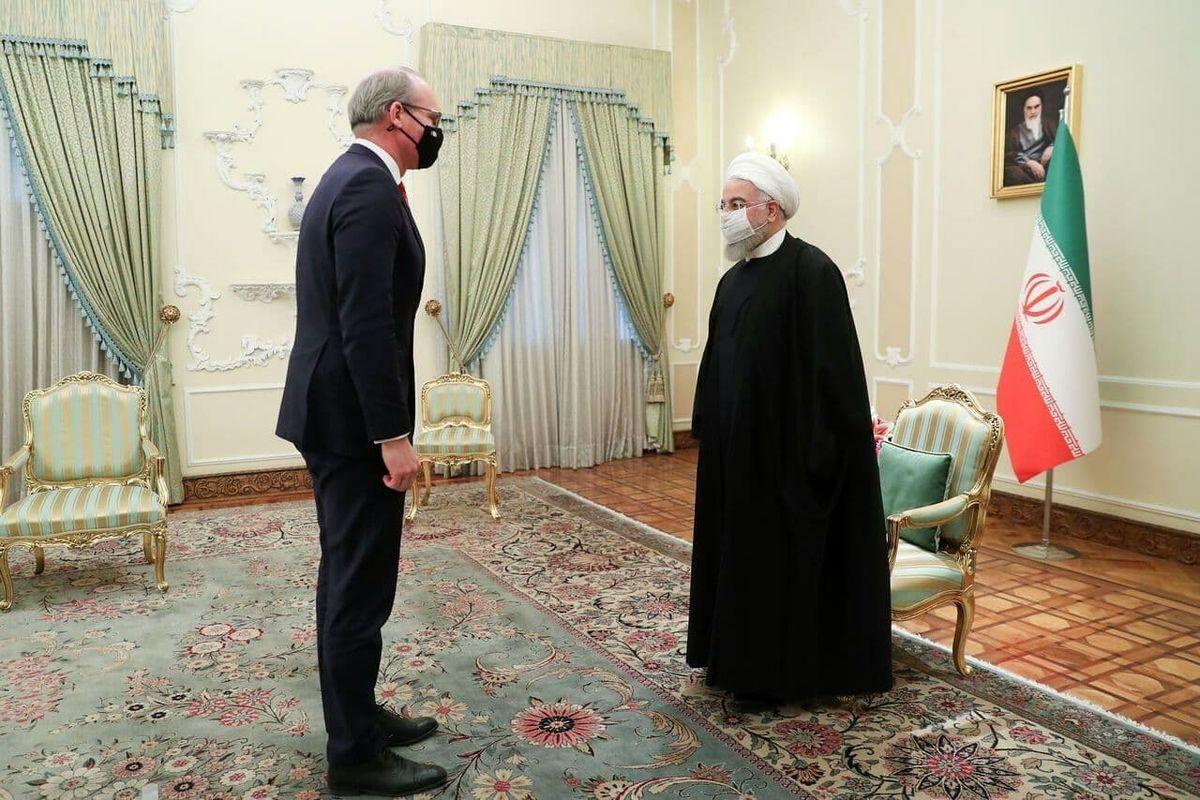 عکس: دیدار وزیر خارجه ایرلند با روحانی