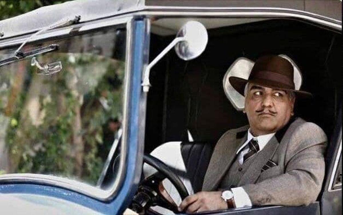 گریم متفاوت مهران مدیری در سریال تاریخی +عکس