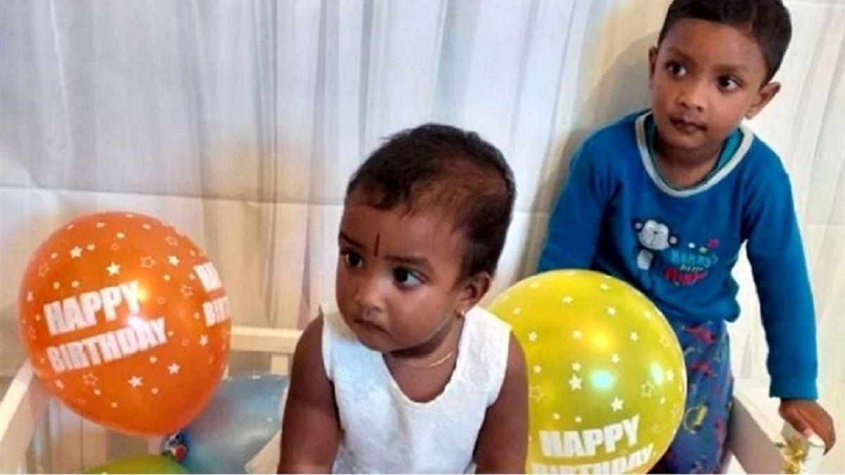 پدر روانی ۲ فرزند خود را سلاخی کرد! +عکس
