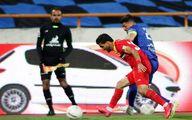 ماجرای درگیری بازیکنان فولاد و استقلال در نیمه دوم