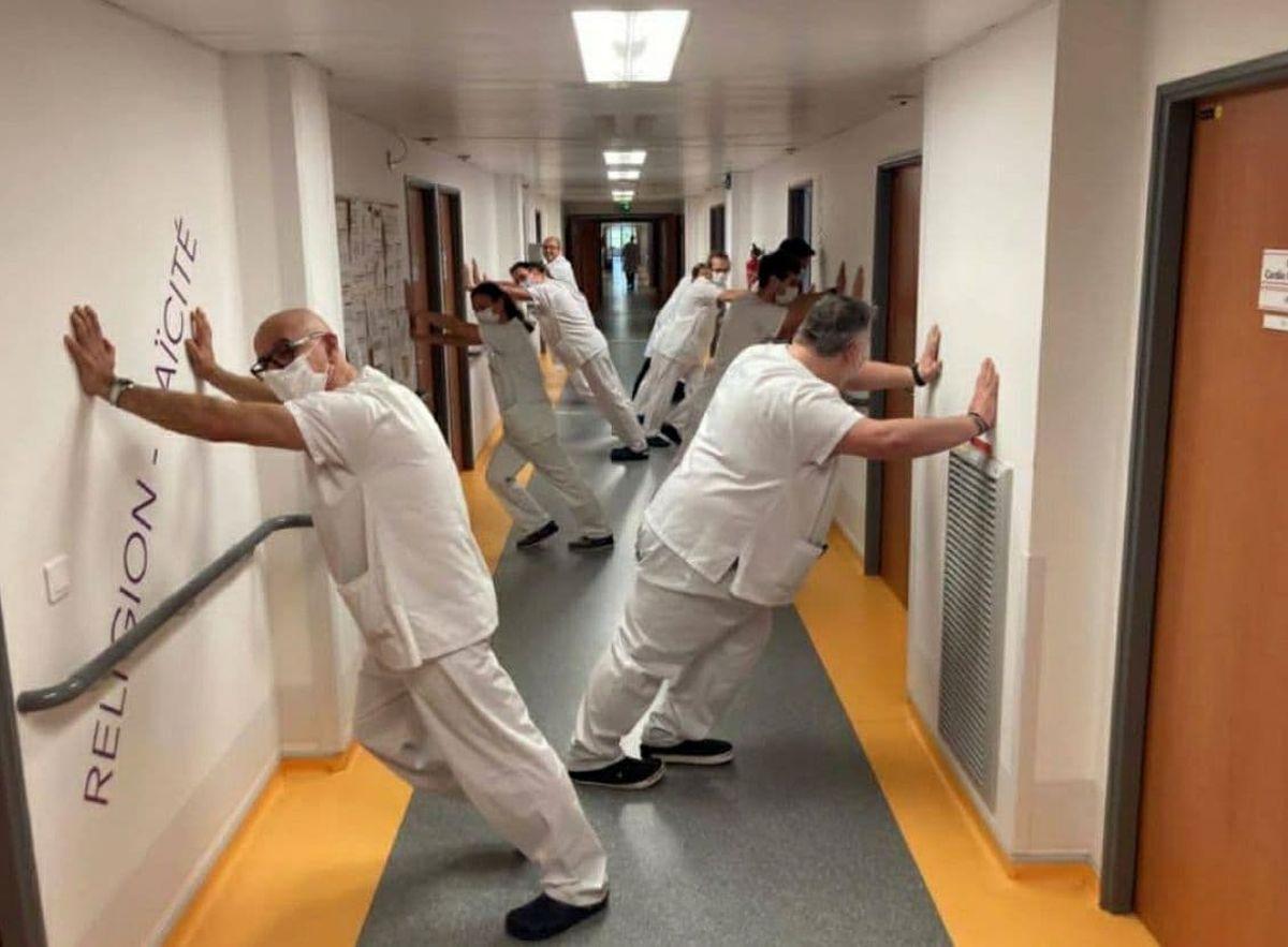 شوخی باحال پرستاران بخش کرونایی +عکس