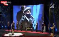 رضا عطاران با دو ماسک در اختتامیه جشنواره +عکس