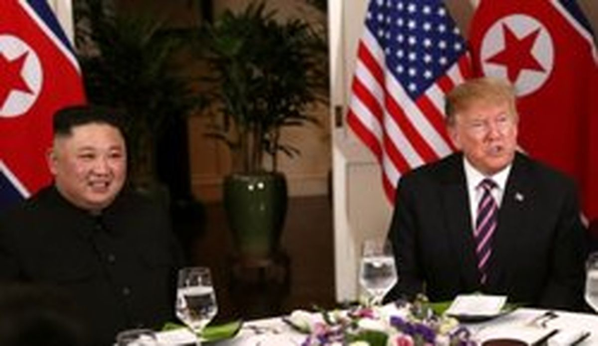 علت ضیافت شام «ترامپ و اون» بدون پوشش خبری چه بود؟