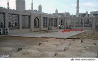 عکس/ مزار حضرت امّ البنین(س)