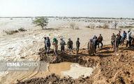 جزئیات سیل در همدان/ روستای نصرت آباد زیر آب رفت