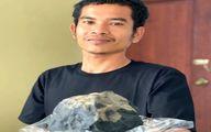 سقوط شهاب سنگ مرد اندونزیایی را یک شبه میلیونرکرد! +عکس