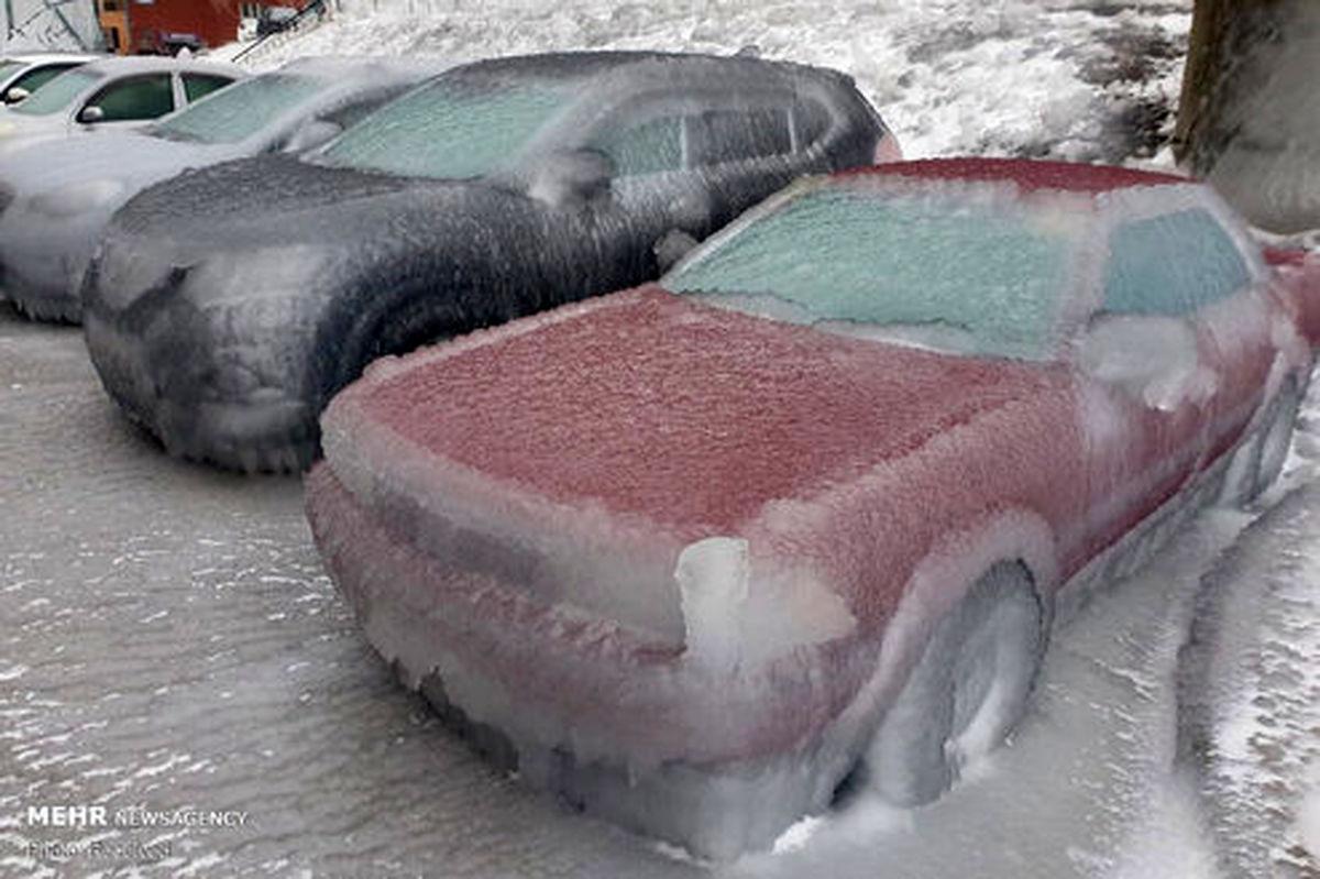 تصاویر: شرق روسیه یخ زد