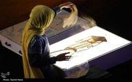 فیلم: نقاشی با شن فاطمه عبادی از پیادهروی اربعین
