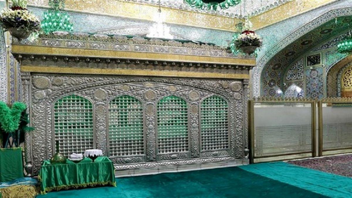 اسرار نهفته صندوق روی قبر مطهر امام رضا (ع) +تصاویر