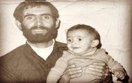 عکس زیرخاکی هادی کاظمی و پدرش