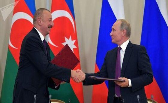 اولین گفتوگوی پوتین با علیاف پس از بحران قرهباغ